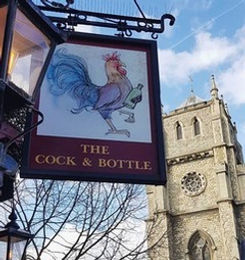 The Cock and Bottle