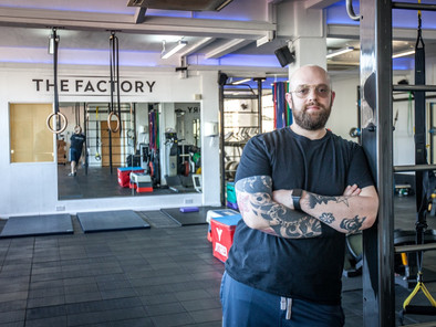 Musician turned gym owner in tune with his customers