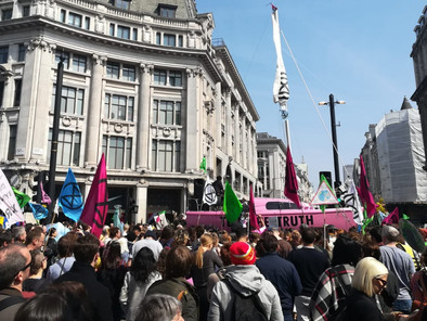 Extinction Rebellion is coming to Hackney with a mass protest from 12th-14th July