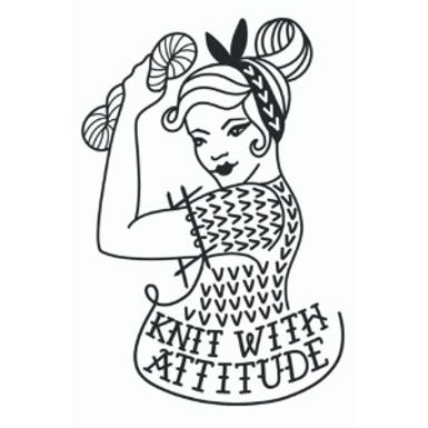 Knit with attitude