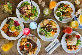 Thoughtful good-for-you-food Healthy and delicious vegan and vegetarian dishes with international influences