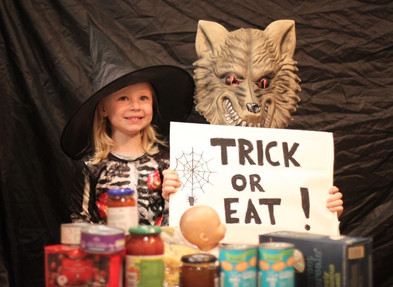Trick or Eat? Halloween campaign puts Food Bank first
