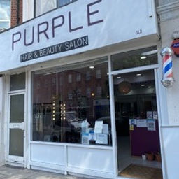 Purple Hair And Beauty