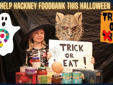 Trick or Eat for Hackney Foodbank