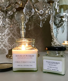 All House of Buckley candles are handmade with love in Stoke Newington using only the finest ingredients, all sourced from the UK. They use 100% soy wax for a longer, cleaner and environmentally more friendly burn compared to paraffin. Vegan friendly and poured in small batches, they make the perfect gift.