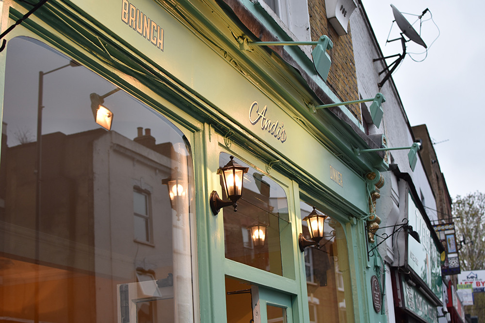 Andi's on Stoke Newington Church Street