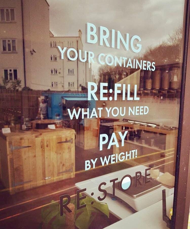 Re:store refill zero waste shop