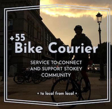 Plus 55 Stokey Bike Courier Services