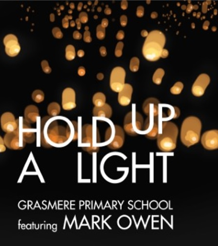 grasmere primary hold up a light