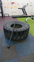 大型タイヤ(130kg)