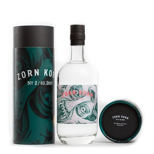 Zorn Korn 500ml mit Hülle, grünes Label