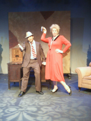 "Miss Hannigan in Annie - the ""forbidden"" show"