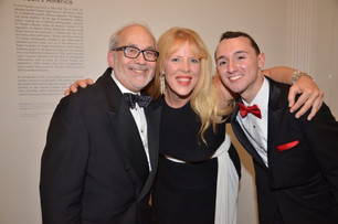 With the Maestro and Charlie @ Guild Hall for the Jerry Herman Revue - Standard Fair is Born