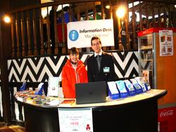 infomation desk