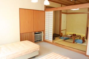 Western and Japanese style Room
