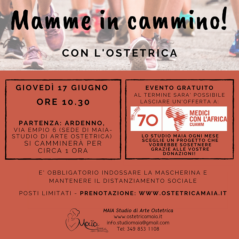 MAMME IN CAMMINO!