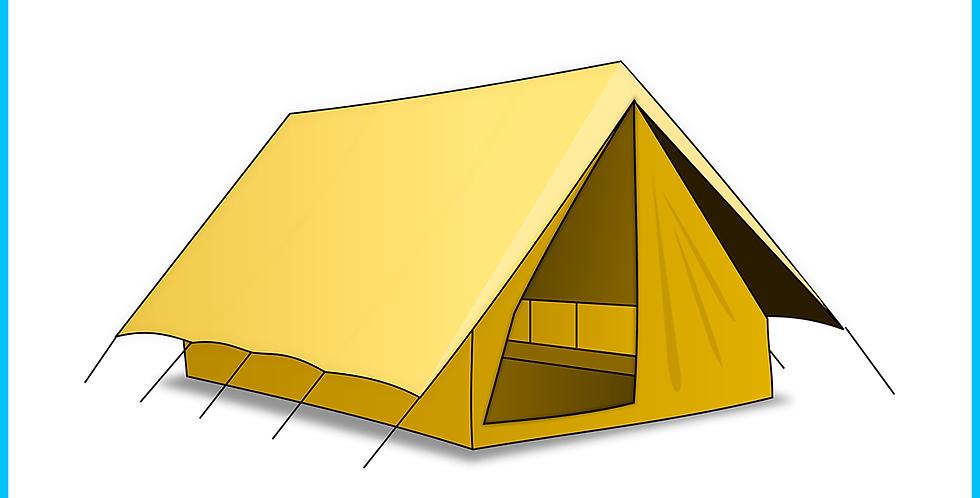 Ночёвка в своей палатке (За ночь)