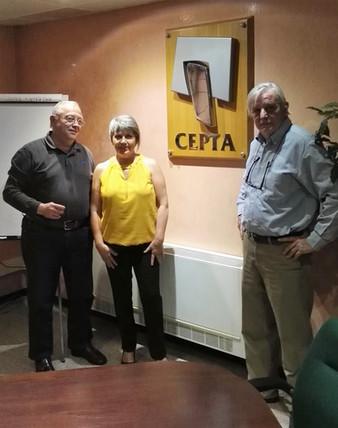 EL Col•lectiu d'aturats del Baix Penedès es reuneix amb el Sr. Xavier Borrell Martí, Director de CEP