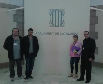 El Col.lectiu d'aturats al Parlament