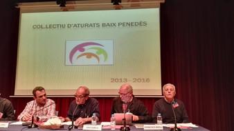 """""""El col•lectiu d'aturats del Baix Penedès participa al II Congrés sobre l'ocupació de les persones a"""
