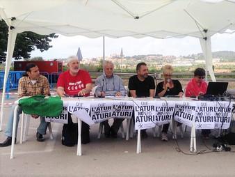 Presentació de l'Asociació d'aturats de Torredembarra.