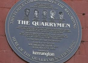 ב-12 ביולי 1958 הקליטו הקווארימן את In Spite Of All The Danger ו-That'll Be The Day