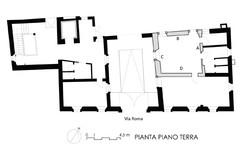 restauro palazzo - pianta