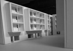 social housing plastico