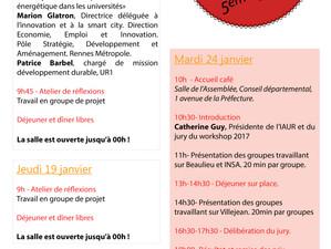 Coordination du workshop de l'IAUR