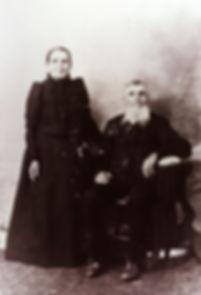 Télesphore Demers et Éloïse Beaudet vers 1900