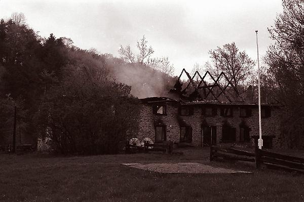 Incendie du Moulin du Portage 17 mai 1988