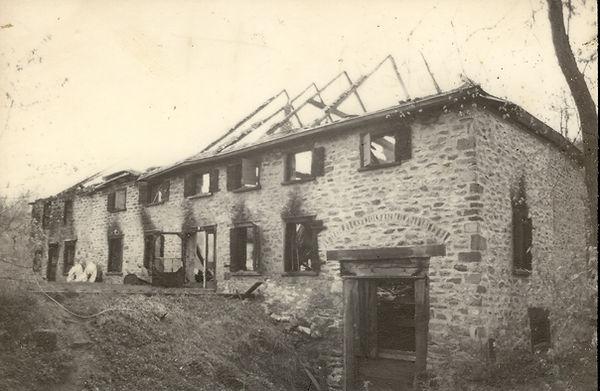 Incendie du Moulin du Portage le 17 mai 1988