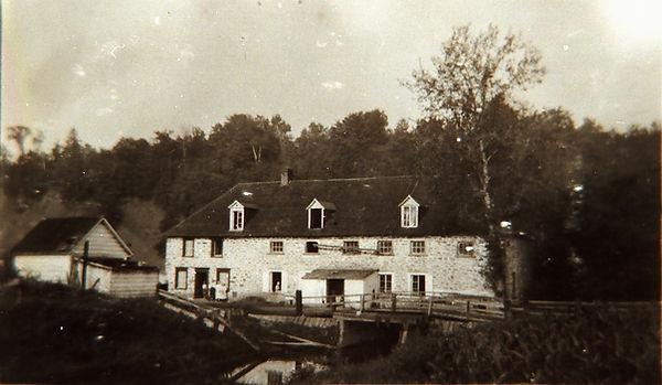 Le Moulin du Portage en opération vers 1917