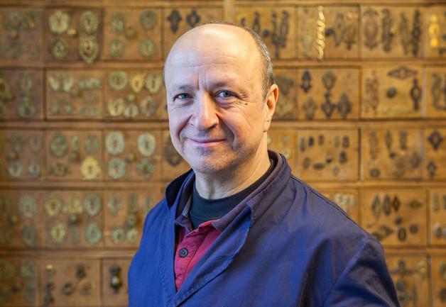 Gianni Zeno (Lesa il bronzista), Brand Portrait.