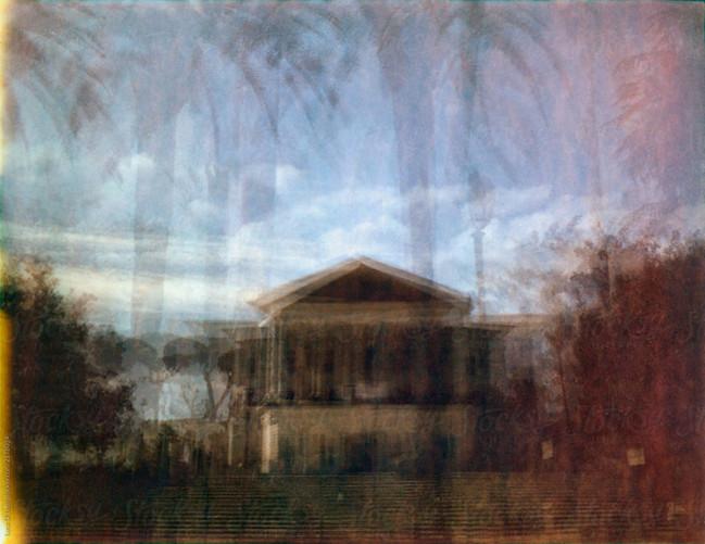 Multiple exposure Villa Torlonia