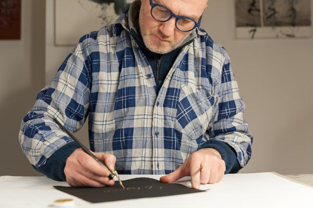 Maestro calligrafo Massimo Polello