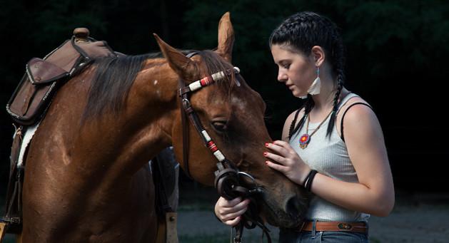 ritratto equestre