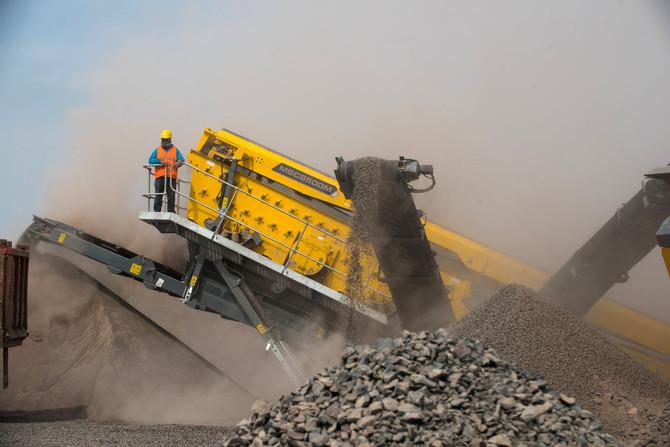 ¿Cómo se hace la grava y la arena para la construcción?
