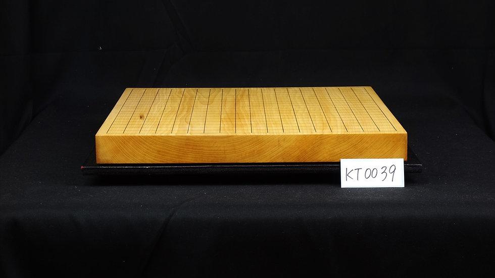 【KT0039】九州山地本榧 本榧 板目(木裏) 卓上碁盤