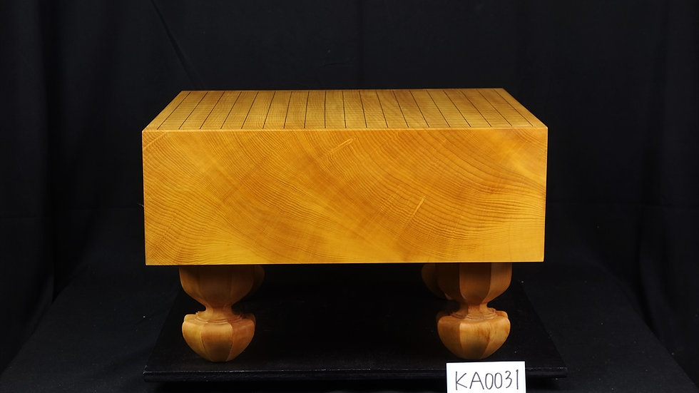 【KA0031】日向産本榧 柾目 脚付碁盤