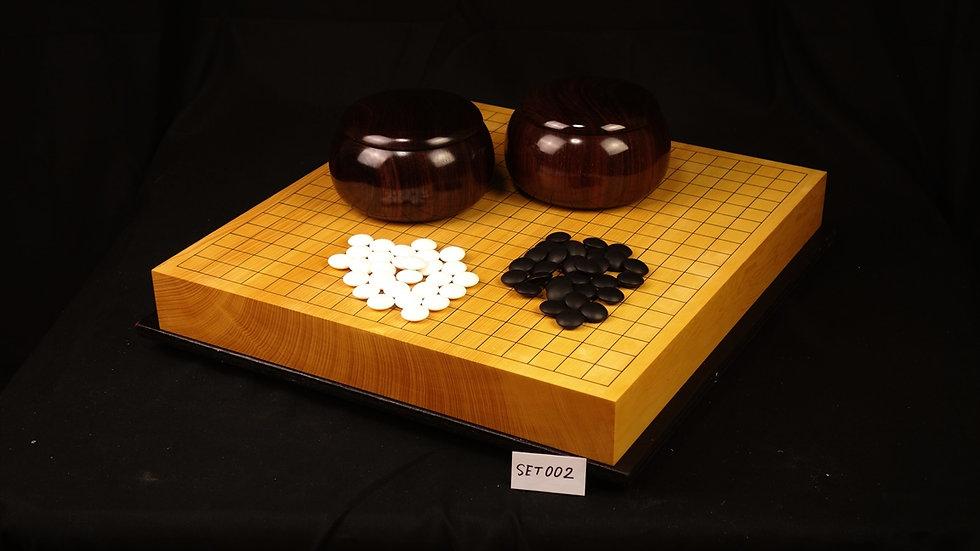 【SET002】日向榧卓上碁盤フルセット