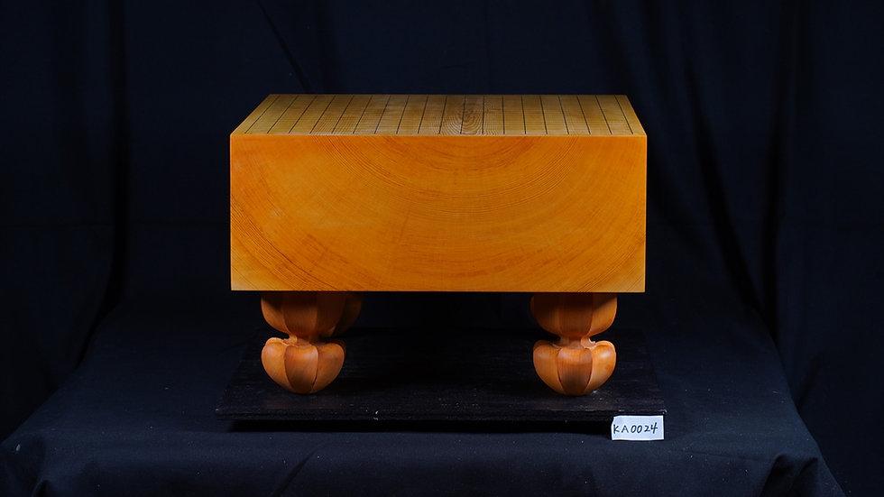 日向産本榧 板目(木裏)   脚付碁盤