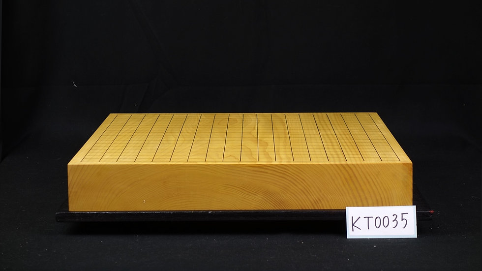 【KT0035】九州山地本榧 板目(木表) 一枚盤 卓上碁盤