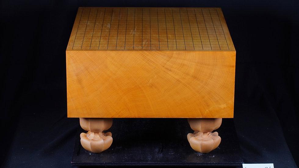 【KA0036】日本産本榧 柾目 脚付碁盤