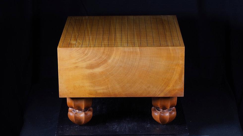 【KA0032】綾営林署産本榧 柾目 脚付碁盤