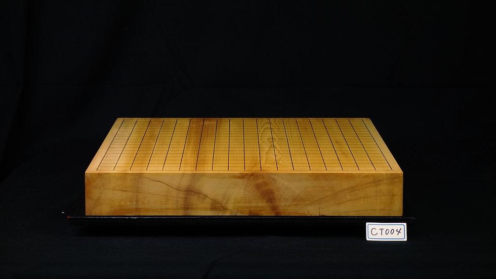 日本産本榧 板目(木裏)   卓上碁盤