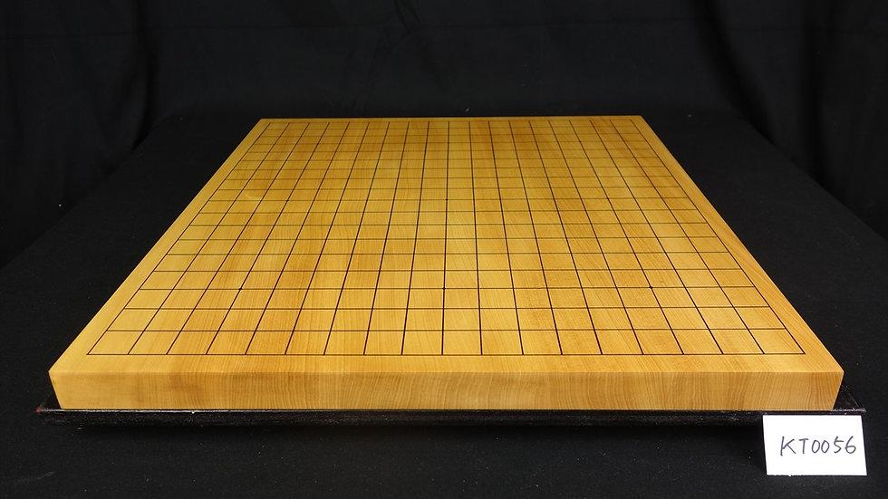【KT0056】日向産本榧 天地柾  一枚盤 卓上碁盤