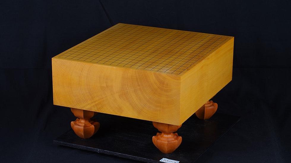 本榧 柾目 脚付碁盤