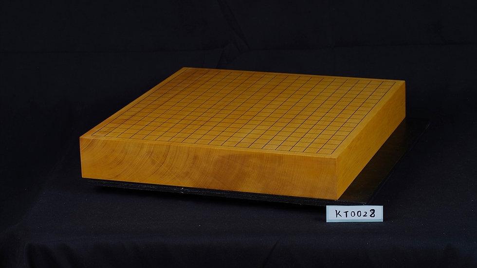 【KT0028】日本産本榧 柾目  卓上碁盤