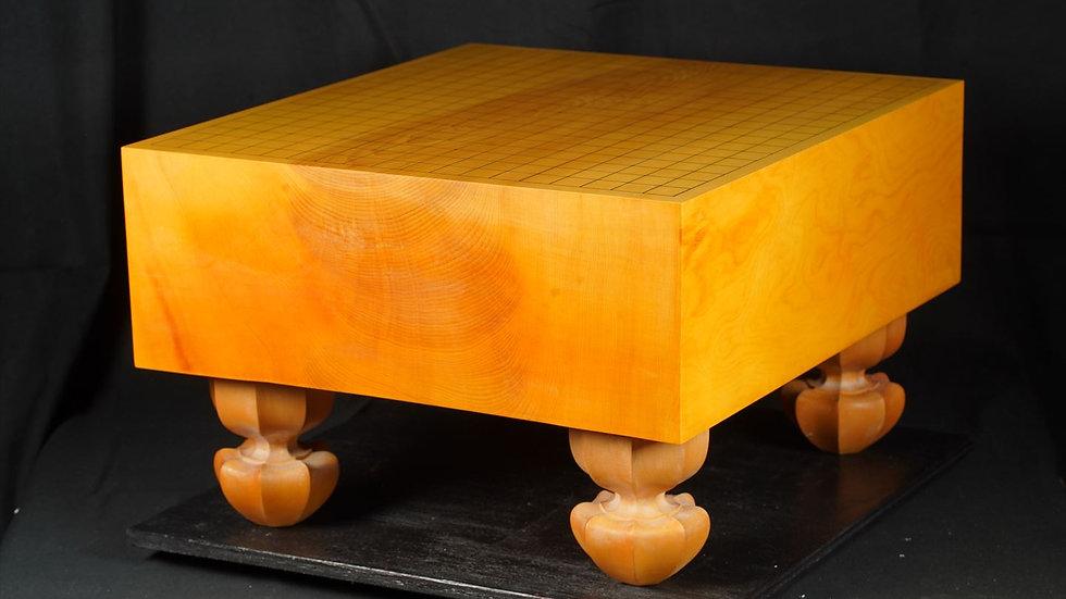 本榧 板目(木裏)脚付碁盤